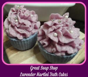 Lavender Martini Cakes